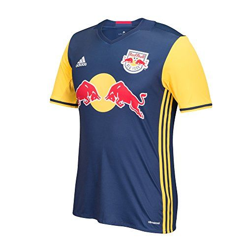 MLS New York Red Bulls Men's Replica Short Sleeve Team Jersey, Dark Blue, Large  http://allstarsportsfan.com/product/mls-new-york-red-bulls-mens-replica-short-sleeve-team-jersey-dark-blue-large/  Direct take down of the on-field jersey 100% polyester with MLS team crest and official sponsor marks Officially licensed