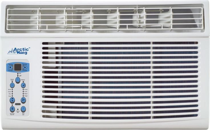Arctic King AKW08CR61 8000 BTU 115 Volt Window Air Conditioner with Remote Contr White Air Conditioners Window Cool Only