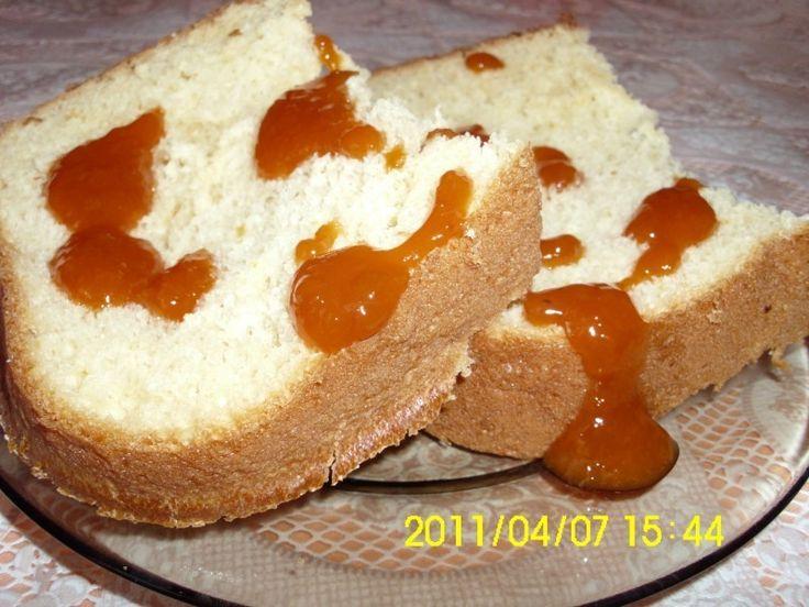 Foszlós citromos kalács kenyérsütőben recept. Válogass a többi fantasztikus recept közül az Okoskonyha online szakácskönyvében!