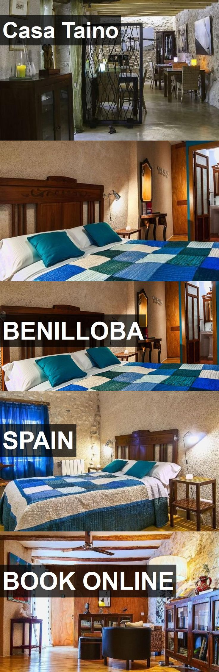 Hotel Casa Taino in Benilloba, Spain. For more information, photos, reviews and best prices please follow the link. #Spain #Benilloba #travel #vacation #hotel