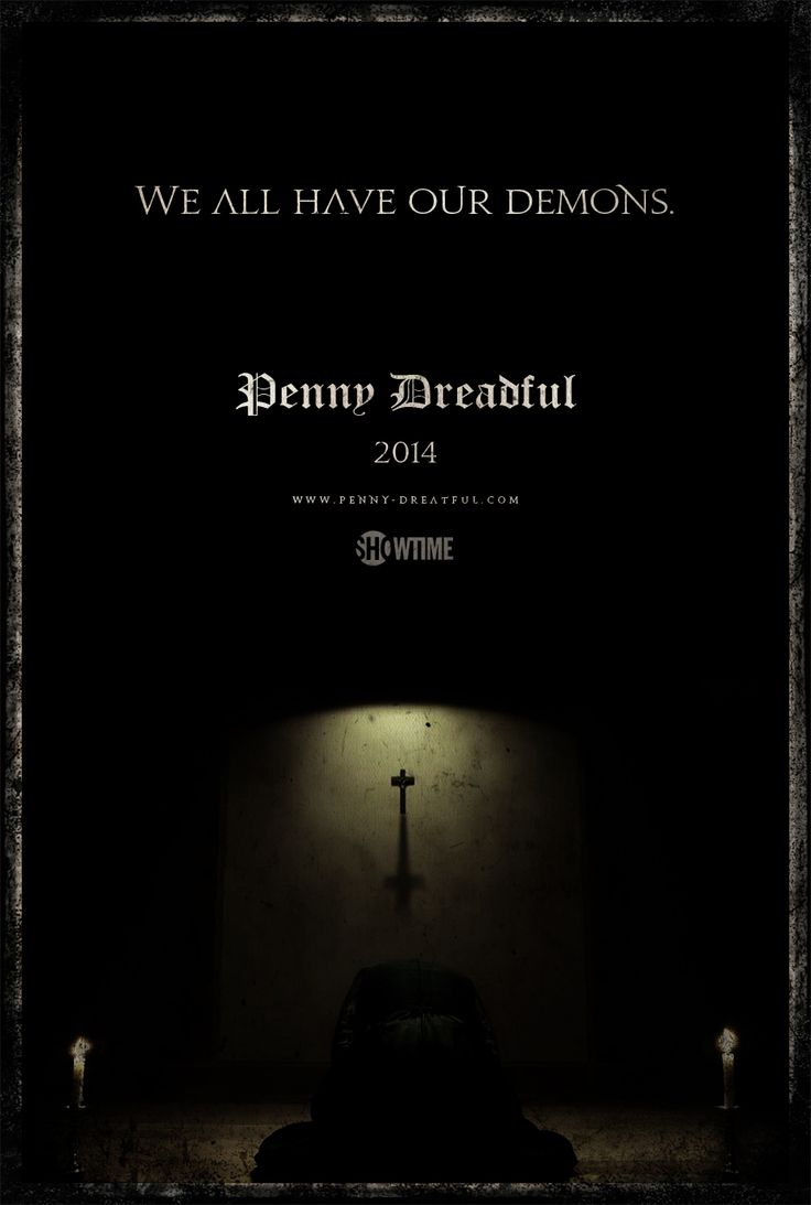Penny Dreadful excited for this! I'll have to watch this new show. Looks good..