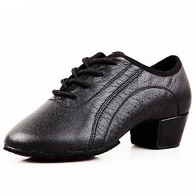 Sapatos+de+Dança+(+Preto+)+-+Homens+-+Não+Personalizável+-+Latim+–+EUR+€+39.19