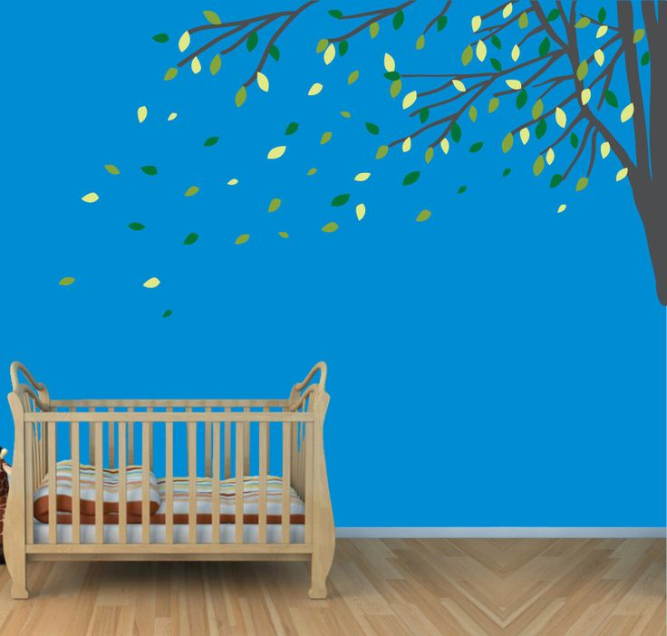 single corner branch wall decals tree decals vinyl wall art wall clings