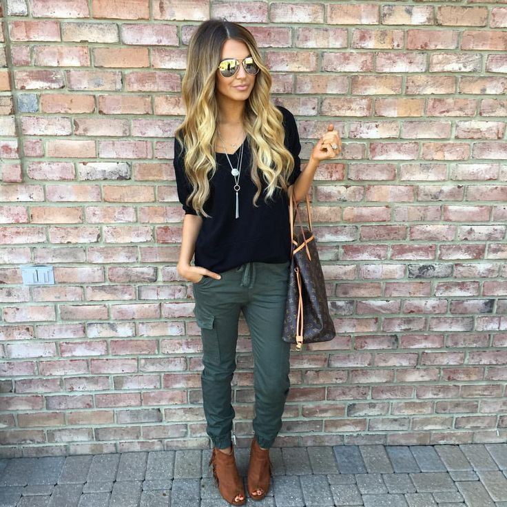 17 Best ideas about Green Joggers on Pinterest | Jogger pants ...