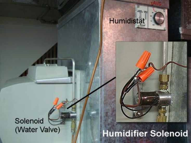 Testing and Replaing a Humidifier Solenoid Valve | Furnace