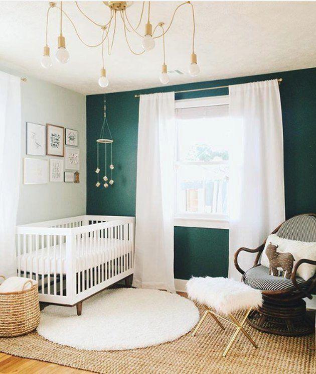 13 Green Nursery Ideas That