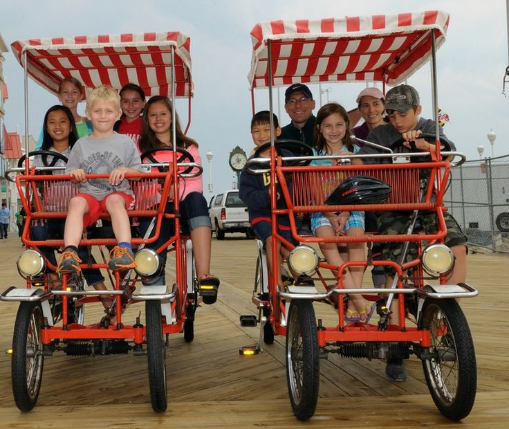 Bike World Boardwalk Rentals | Ocean City Maryland Vacation Guide