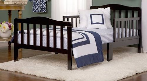 Toddler Bed Kids Unisex Classic Bedroom Furniture NEW #DreamOnMe