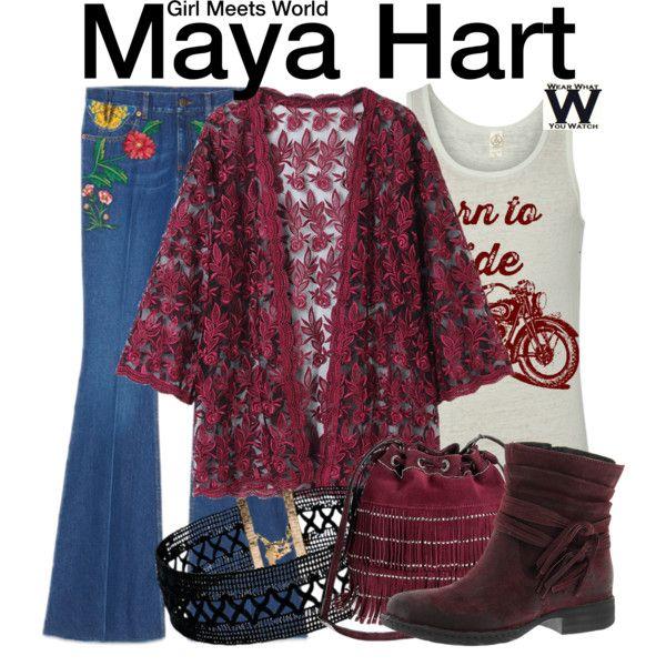 Inspired by Sabrina Carpenter as Maya Hart on Girl Meets World