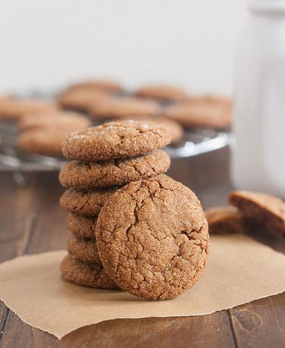 Perfect Gingersnaps by Tracey's Culinary Adventures, via Flickr