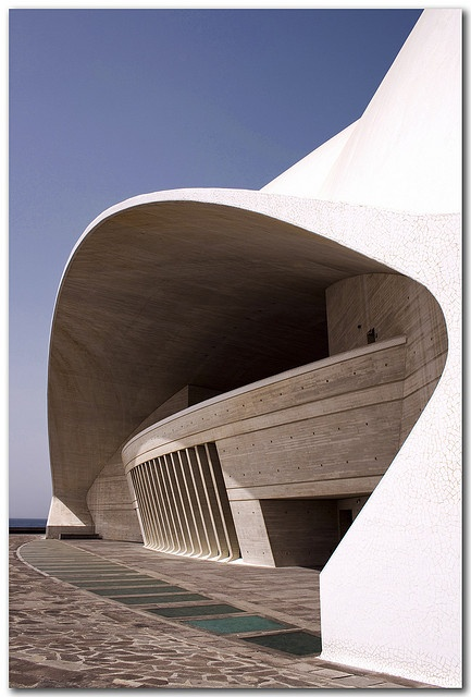 Tenerife Opera House, Canary Island, Spain, via Flickr