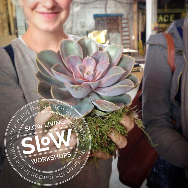 Kokedama-workshop, torsdag d. 15. oktober. Slow Living Workshops