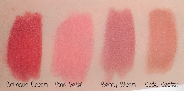 e.l.f. Lip Stain Swatches! http://rachelknowsstuff.blogspot.com/2012/08/rachel-knows-elf-lip-stain.html