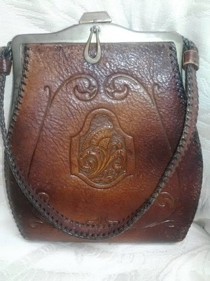 3403c0245c Bee da a abcb leather purses vintage purses jpg 300x400 Antique leather  purses
