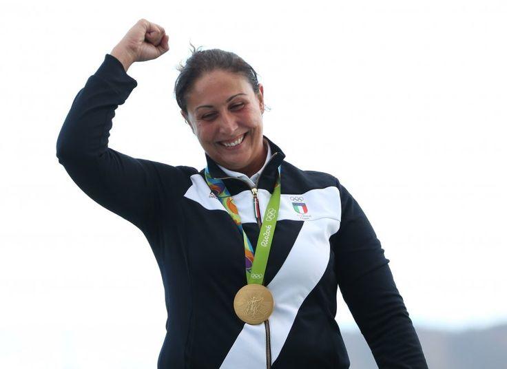 Diana Bacosi, ORO (tiro a volo skeet) Rio 2016