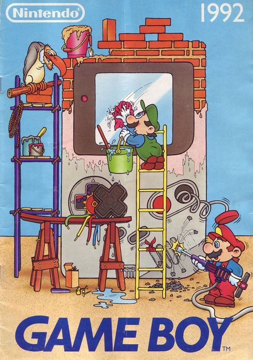 Mario and Luigi Building an Original Gameboy