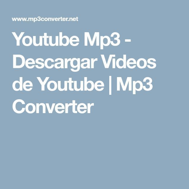 descargar online videos de youtube mp3