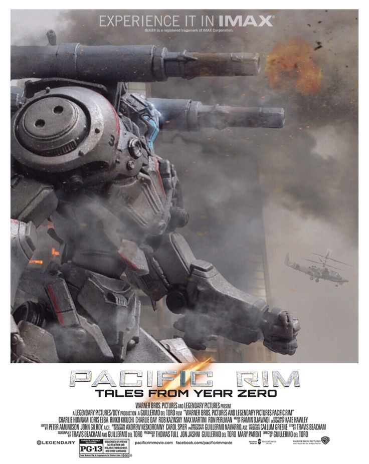 PACIFIC RIM; TALES FROM YEAR ZERO Movie Poster by Pacific Shatterdome. IG: pacific_shatterdome.