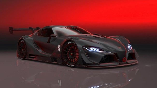 Toyota FT-1 Vision GT Concept Front View