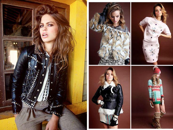 Lookbook West Love Story - Highly Preppy // Perfecto tachas polipiel + neopreno + cuero borreguito + jersey grecas