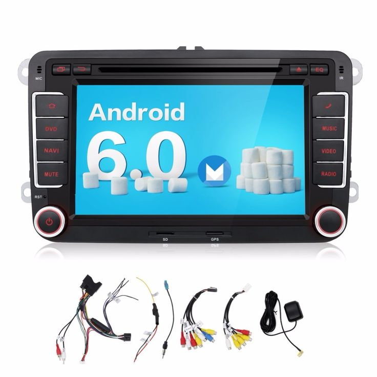 ==> [Free Shipping] Buy Best 2 Din 7 Inch Quad 4 Core Android 6.0 Car DVD Player GPS Navi PC For VW GOLF 5 6 POLO PASSAT CC JETTA TIGUAN Skoda/Seat 3G USB BT Online with LOWEST Price | 32658419728