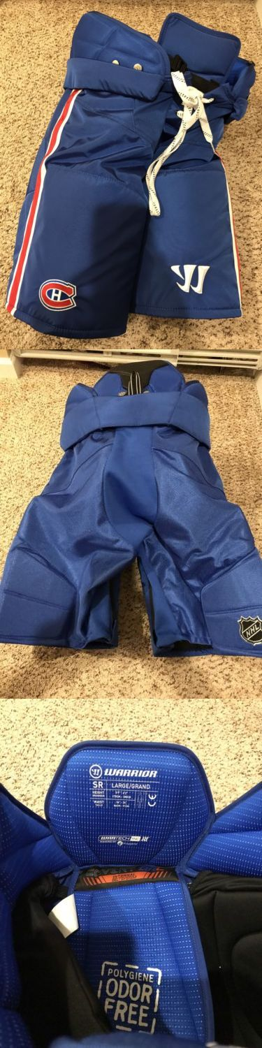 Pads and Guards 20856: New! Pro Stock Warrior Qrl Montreal Canadiens Hockey Pants, Size L -> BUY IT NOW ONLY: $175 on eBay!