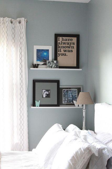 decor adventures wall shelves in bedroom