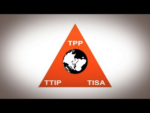 WikiLeaks - The US strategy to create a new global legal and economic system: TPP, TTIP, TISA. - YouTube EVERYONE SHOULD KNOW!!!