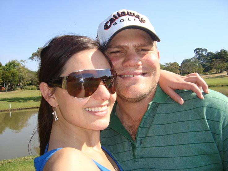 #Safarisoulmates since day one! Playing golf at Sabi River Bungalows, Hazyview!