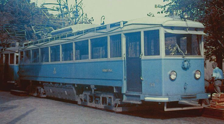 Another one of the big suburban cars of the Sundsvall system, that went out to Skonvik.
