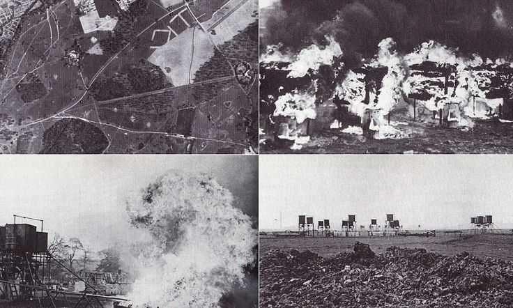 "Operation Starfish (decoy ""cities"" in the countryside) designed to lure German bombers away from the larger cities during the Battle of Britain."