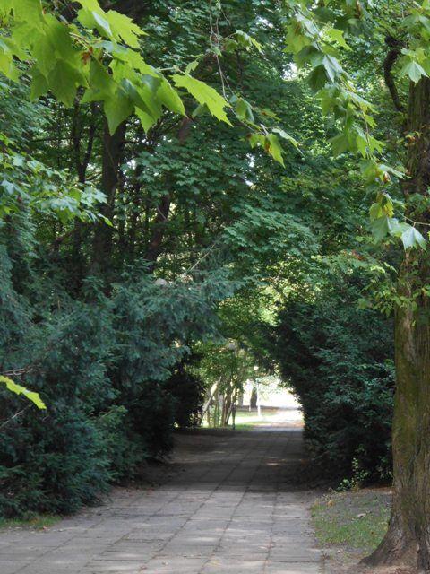 Park uzdrowiskowy w Świnoujsciu