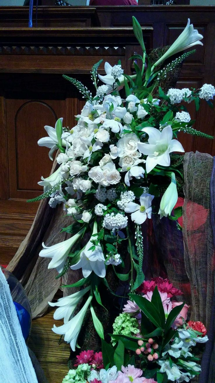 Easter Sunday Altar arrangement, East Lake United