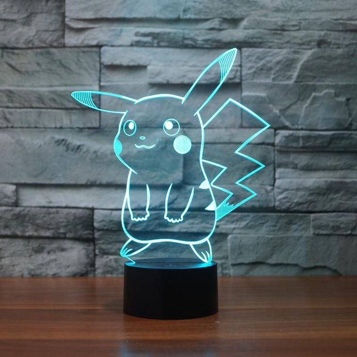 3d Illusion Pokemon Lamp Fondodepantalla3dtouch Illusion Lamp Pokemon In 2020 Nachtlicht Nachtleuchte Pokemon Geschenke