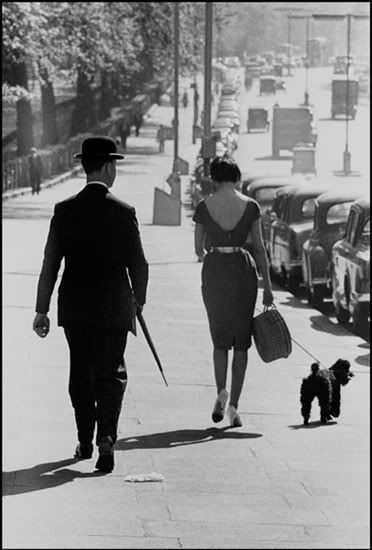Summer afternoon in Piccadilly 1959 by Frank Horvat