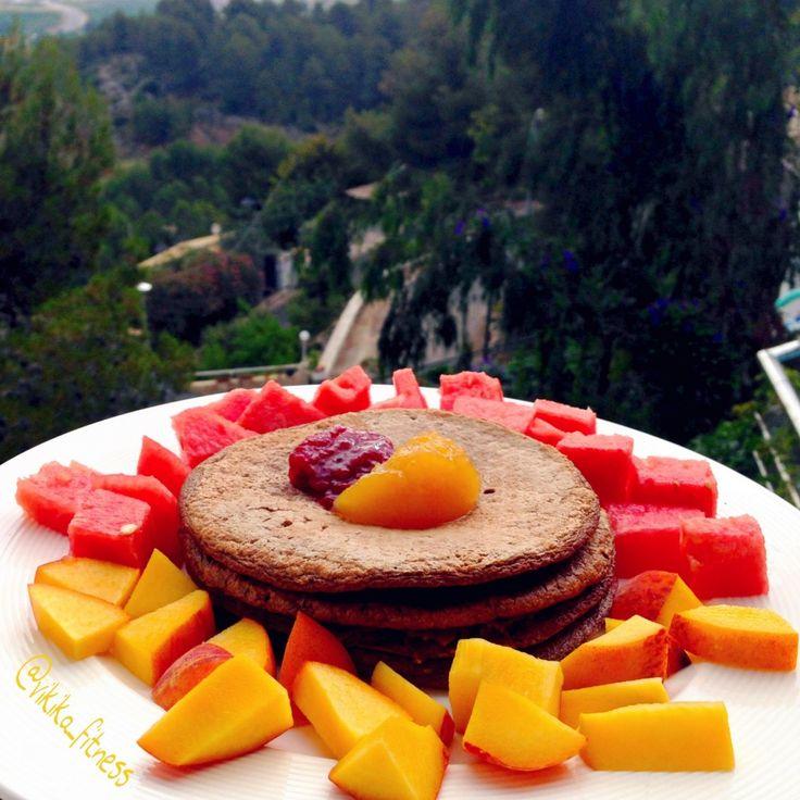RECETA FITNESS/ Tortitas rápidas para desayunar a diario