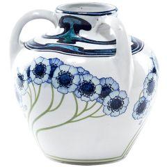 20th Century Liberty Style Italian Vase by Galileo Chini