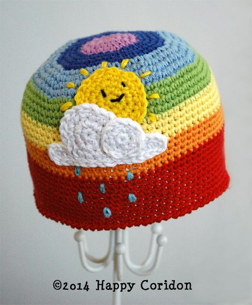 Over the rainbow My job (crochet addicted) Pinterest Over the ...