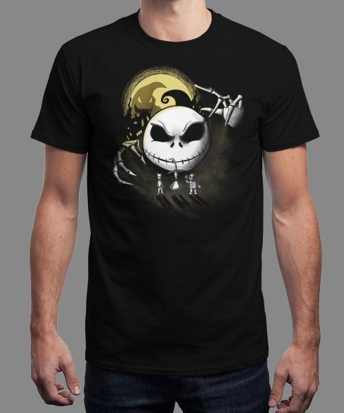 """Dark Halloween"" is today's £8/€10/$12 tee for 24 hours only on www.Qwertee.com Pin this for a chance to win a FREE TEE this weekend. Follow us on pinterest.com/qwertee for a second! Thanks:)"