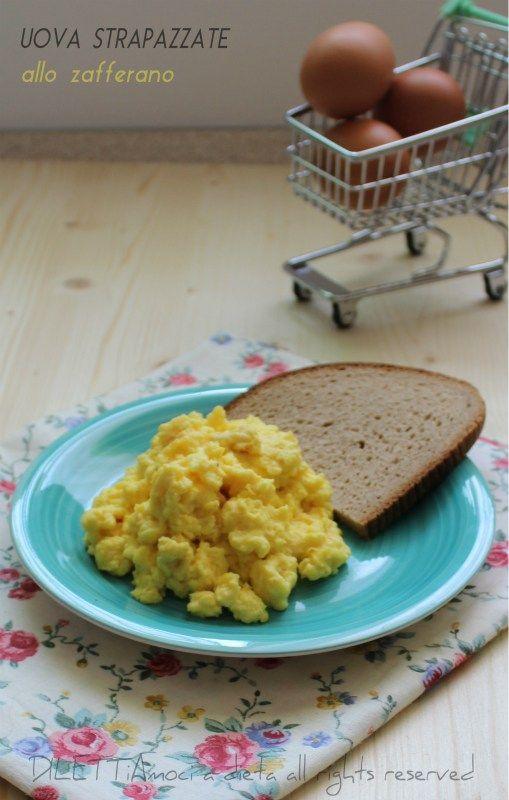 Uova strapazzate allo zafferano, ricetta dieta Dukan dei 7 giorni