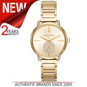 e673c4427fd7 Michael Kors Portia Women s Bracelet Watch│Stainless Steel Gold Tone Dial│ MK3639 ⌚⌚