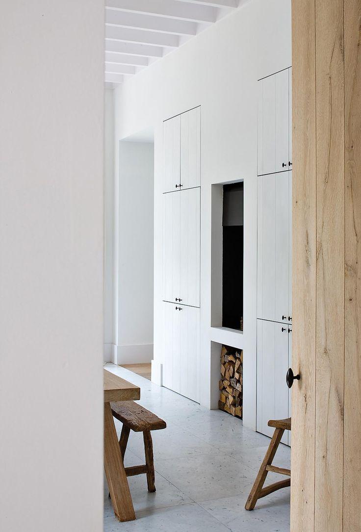 17 beste idee n over witte keukenkasten op pinterest for Witte keukenstoelen