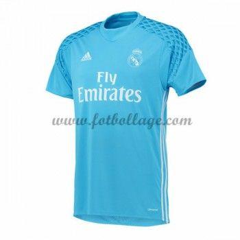 Fotbollströjor Real Madrid 2016-17 Målvakt Hemmatröja