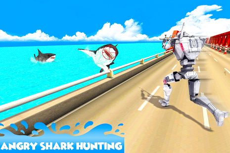 #shark #hunter #police #robot #adventure #andriod #game #3D   #shooter #hungry #ultimate