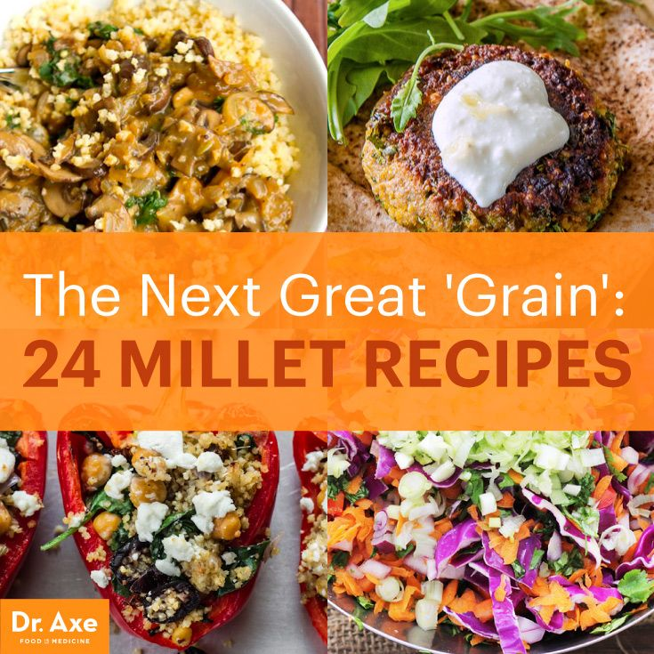 24 Millet Recipes http://www.draxe.com #health #holistic #natural