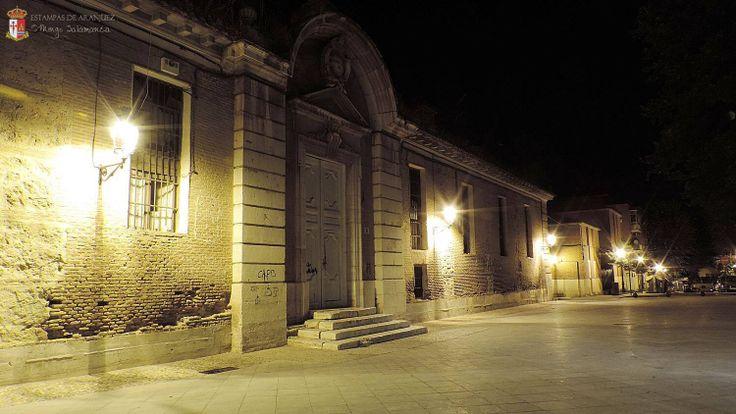 Antiguo Hospital de San Carlos, frente a Iglesia de San Pascual. #aranjuez