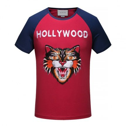 20 Cheap 2018 New  Gucci T-shirts size M-3XL for men in 102129, $19 USD- [IB102129] - Replica Gucci T-shirts for Men