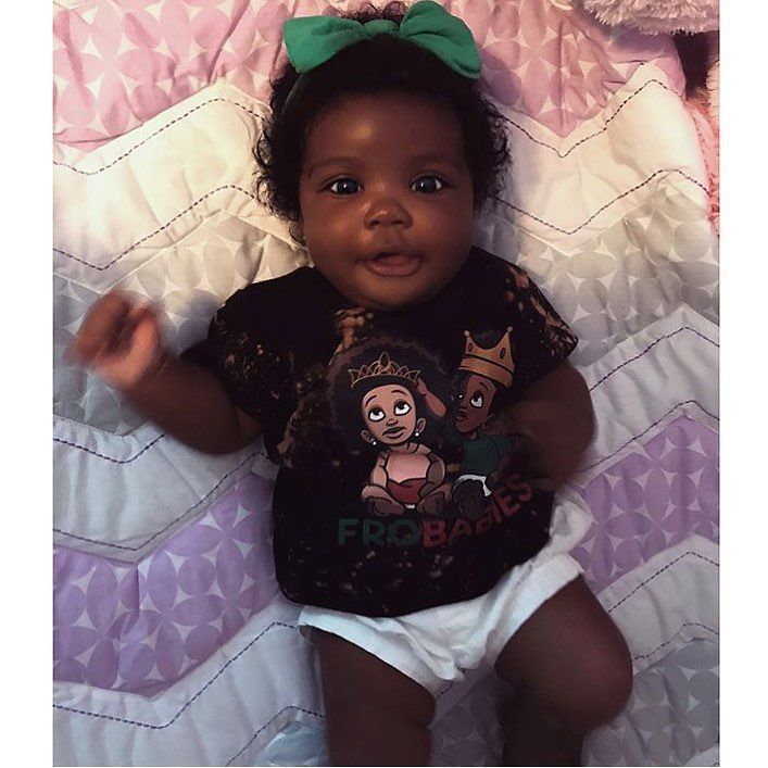 "11.2k Likes, 95 Comments - Fro Babies (@frobabies) on Instagram: ""Rise & Shine Beautiful Cutie in a FroBabies Tee ❤️Get your FroBabies Tee at www.FROBABIES.com…"""