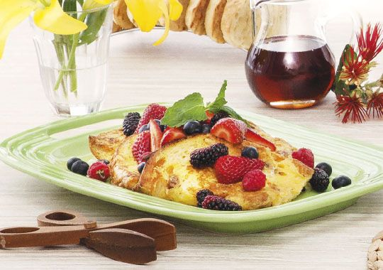 Start Christmas Day the tasty way with this yummy Panettone French Toast recipe.