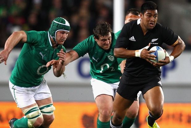 Julian Savea - awesome form with 3 tries on his first outing for the ABs